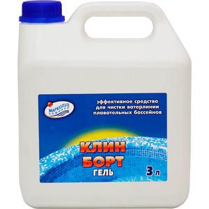 КЛИН-БОРТ ГЕЛЬ Маркопул Кемиклс М84, 3л канистра, жидкость для очистка стенок бассейна от слизи и жировых отложений, фото