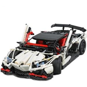Конструктор Lepin Technics 23006 Lamborghini Aventador LP 720-4 - Technic 3918 машина lamborghini aventador lp720 4 на р у чёрн 1 16 1061ob lamborghini
