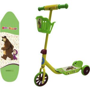 Самокат трехколесный Маша и Медведь 3-х колесный Т11701