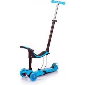 Самокат Mobile Kid MULTICO - BLUE голубой
