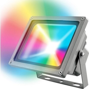 Прожектор светодиодный Uniel ULF-S01-10W/RGB/RC IP65 110-240B