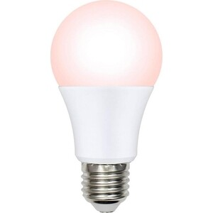 Лампа светодиодная диммируемая Uniel LED-A60-9W/SCEP/E27/FR/DIM IP65 PLO65WH