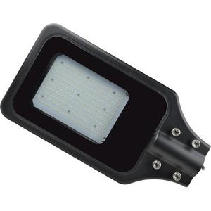 Уличный светодиодный светильник консольный Uniel ULV-R23H-100W/6000K IP65 Black уличный светодиодный светильник ul 00003301 uniel ulg r001 020 rgb ip65 ball
