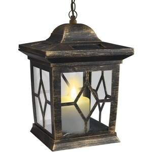 Подвесной светильник на солнечных батареях Uniel USL-S-180/PT220 Bronze lantern