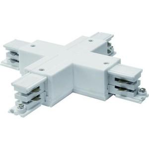Соединитель для шинопроводов Х-образный Uniel UBX-A41 White
