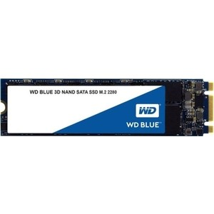 SSD накопитель Western Digital 500Gb WDS500G2B0B Blue M.2 2280 фото