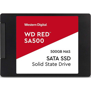 SSD накопитель Western Digital 500Gb WDS500G1R0A Red SA500 2.5