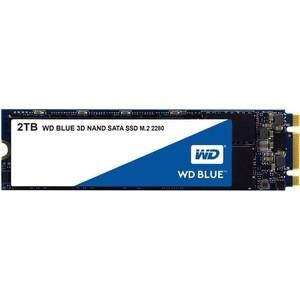 SSD накопитель Western Digital 2Tb WDS200T2B0B Blue M.2 2280