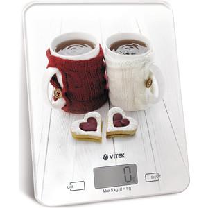 Весы кухонные Vitek VT-2424(W) весы кухонные vitek vt 8021 st серебристый