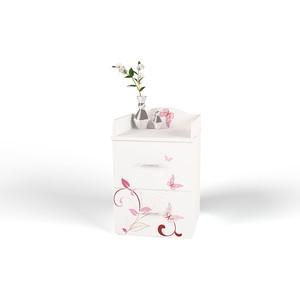 ABC-KING Тумба с 2 ящиками и фигурной спинкой Фея