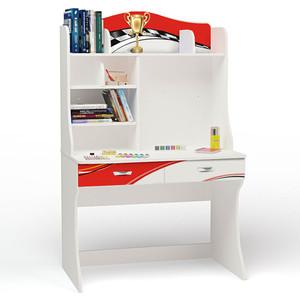 Стол ABC-KING La-Man красная с надстройкой