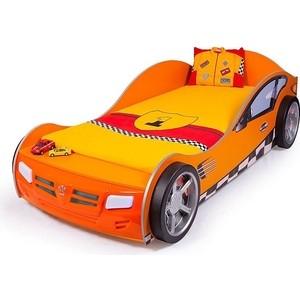 Кровать-машина ABC-KING Formula 190x90 оранжевая