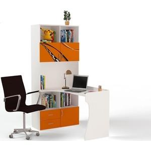 Стол-стеллаж ABC-KING Formula левый оранжевый