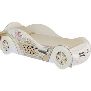 Кровать-машина ABC-KING Bears girl 160x90