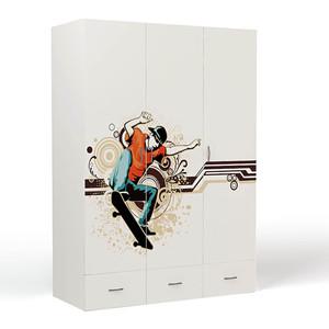 Шкаф ABC-KING Extreme Skate 3-х дверный