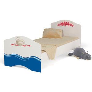 Кровать-классика ABC-KING Ocean 160x90 без ящика для девочки