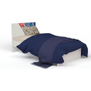 Кровать-классика ABC-KING Человек-паук с рисунком 160x90 без ящика