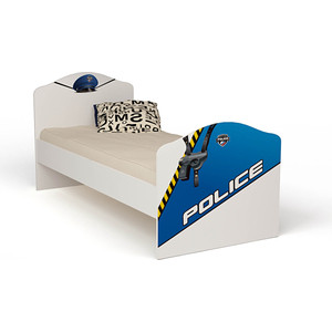 Кровать-классика ABC-KING Police 190x90 без ящика