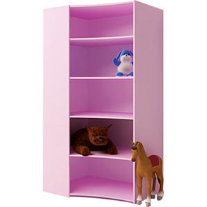 ABC-KING Угловой стеллаж розовый