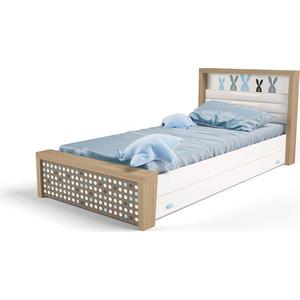 Кровать ABC-KING Mix №4 мягким изножье 190х120