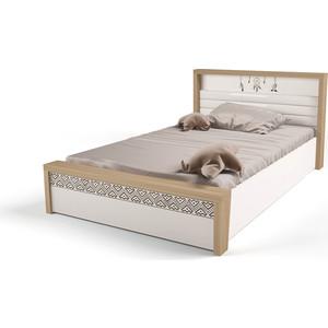 Кровать ABC-KING Mix Ловец снов №5 подъемный механизм 190х120