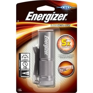 Фонарь ENERGIZER ENR LED Metal Light 3AAA