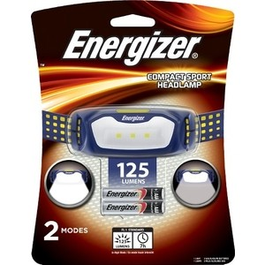 цена на Фонарь налобный ENERGIZER ENR LED Headlight 2AAA tray (HD2L33A)