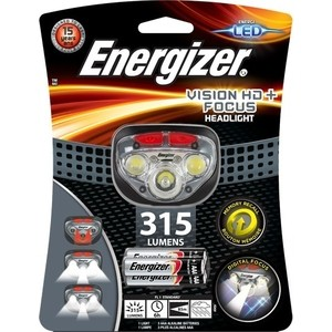 Фонарь налобный ENERGIZER ENR HL Vision HD Focus 3xAAA, tray