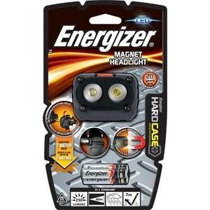 Фонарь налобный ENERGIZER ENR Hard Case Magnet HL 3AAA, tray