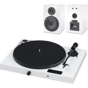 Фото - Виниловый проигрыватель Pro-Ject SET JUKEBOX E + SPEAKER BOX 5 WHITE/WHITE the white brand® сандалии