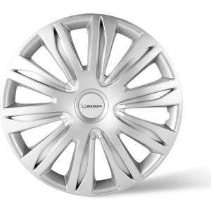 Колпаки колесные MICHELIN 15, 42 Нардо, серебристый, 4 шт.