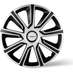 Колпаки колесные MICHELIN 13, 49 Верон, серебристо-черный, 4 шт.