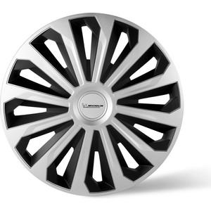 Колпаки колесные MICHELIN 15, Космо, серебристо-черный, 4 шт.