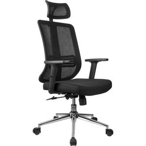 Кресло Riva Chair RCH A663 черная сетка