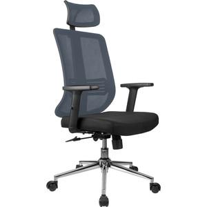 Кресло Riva Chair RCH A663 серая сетка