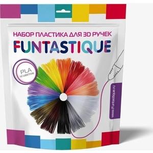 Пластик для 3D ручек Funtastique PLA-PEN-12, 12 цветов