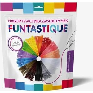 Пластик для 3D ручек Funtastique PLA-PEN-10, 10 цветов
