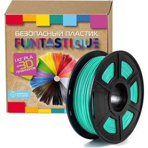 Пластик в катушке для 3D принтера Funtastique PLA-1KG-SW бирюзовый