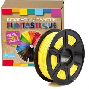 Пластик в катушке для 3D принтера Funtastique PLA-1KG-YL желтый