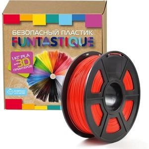 Пластик в катушке для 3D принтера Funtastique PLA-1KG-RD красный