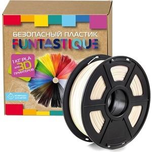 Пластик в катушке для 3D принтера Funtastique PLA-1KG-NC натуральный