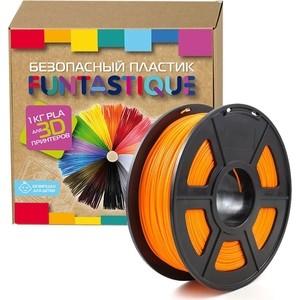 Пластик в катушке для 3D принтера Funtastique PLA-1KG-OR оранжевый