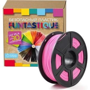 Пластик в катушке для 3D принтера Funtastique PLA-1KG-PK розовый