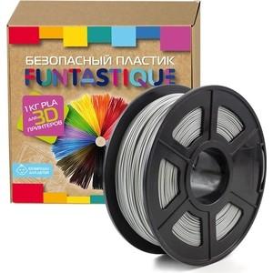 Пластик в катушке для 3D принтера Funtastique PLA-1KG-GY серый