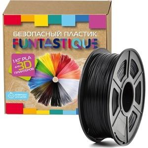Пластик в катушке для 3D принтера Funtastique PLA-1KG-BK черный