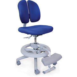 Кресло Mealux Duo-Kid Plus Y-616 KB обивка синяя однотонная (длинный газлифт+две подставки)