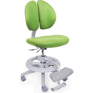 Кресло Mealux Duo-Kid Plus Y-616 KZ обивка зеленая однотонная (длинный газлифт+две подставки)