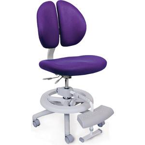 Кресло Mealux Duo-Kid Plus Y-616 KS обивка сиреневая однотонная (длинный газлифт+две подставки)