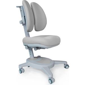 Кресло + чехол Mealux Onyx Duo (Y-115) G обивка серая однотонная