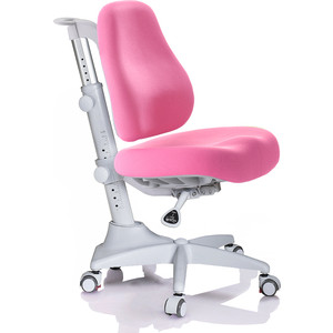 Кресло Mealux Match Y-528 KP/grey base основание серое/обивка розовая однотонная фото